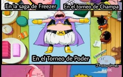 el personaje de majin buu en dragon ball super